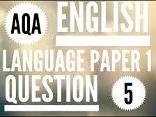 AQA Language Paper 1 Q5 Prompts