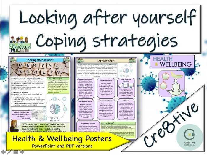 Coping Strategies + Mental Health - Home Learning