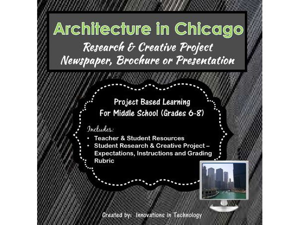 Famous Architectural Landmarks in Chicago - Research & Creative Technology Project