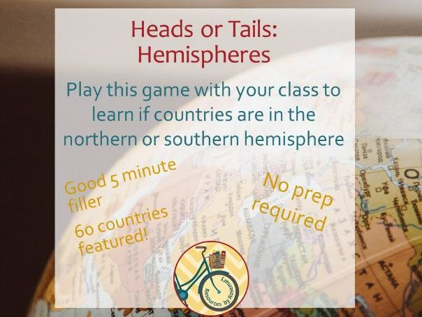 Hemispheres Heads or Tails (Game)