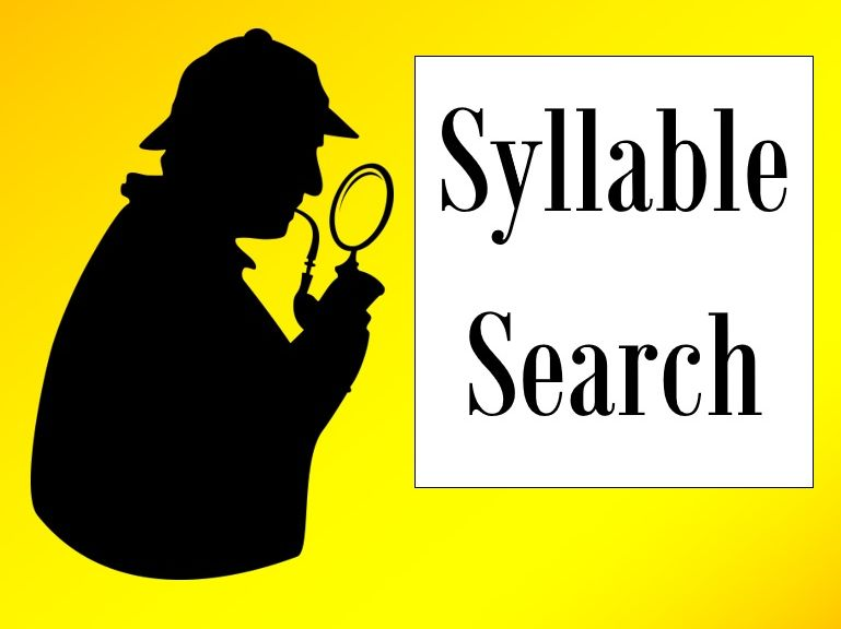 Syllable Search