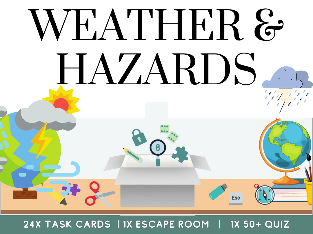 Weather and Hazards Geography Revision