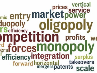 Types of Market Structure - 4 Posters (A-Level Economics)
