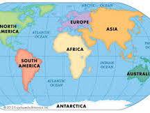 CONTINENTS - OCEANIA/AUSTRALASIA