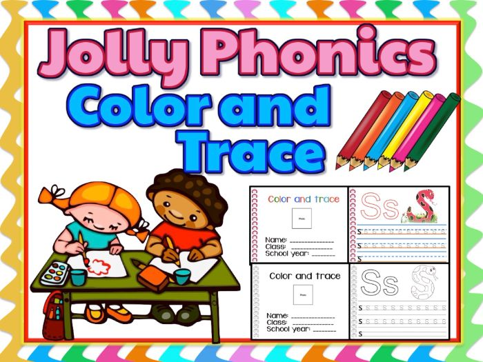 Jolly Phonics Alphabet Writing Practice Sheets