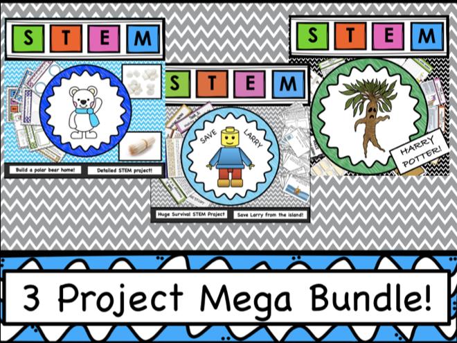 STEM 3 Project Mega Bundle