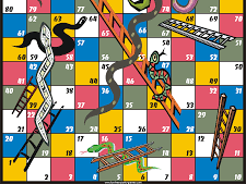 All Snakes and Ladders cards
