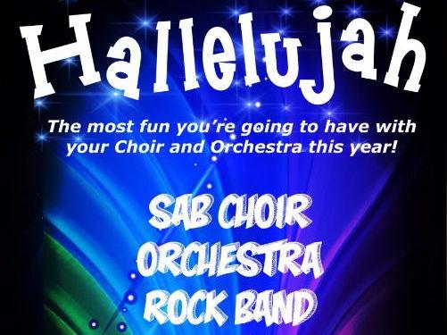 Hallelujah! (Score & Parts)