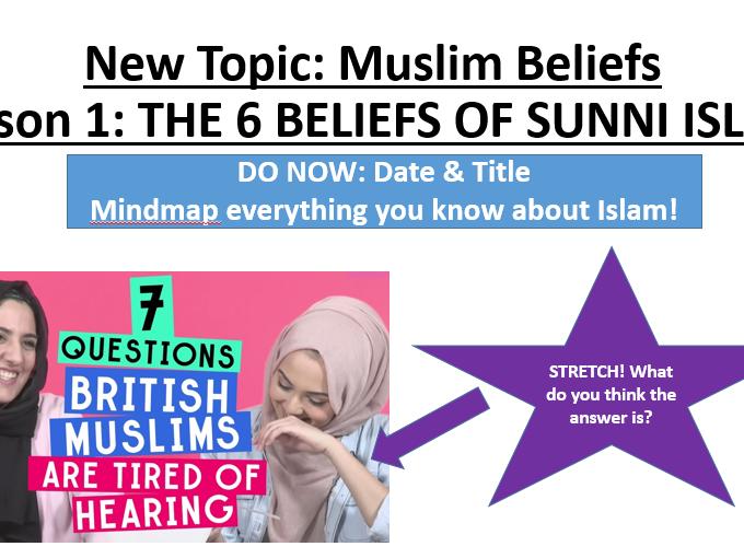 Beliefs sunni muslim Sunni Islam