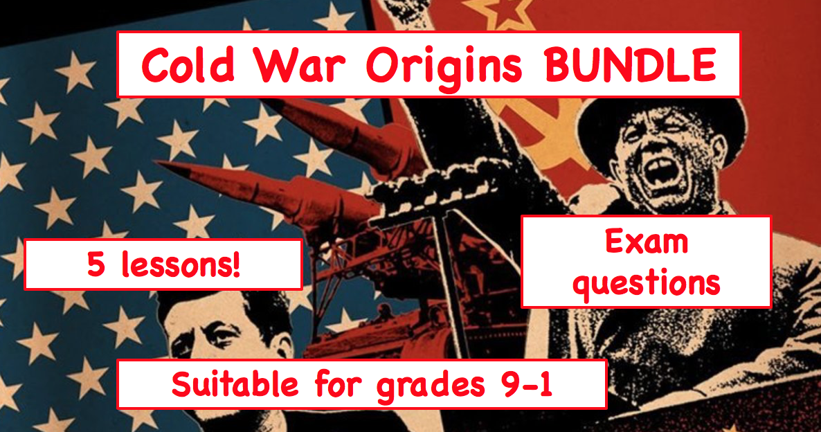 Cold War Origins BUNDLE