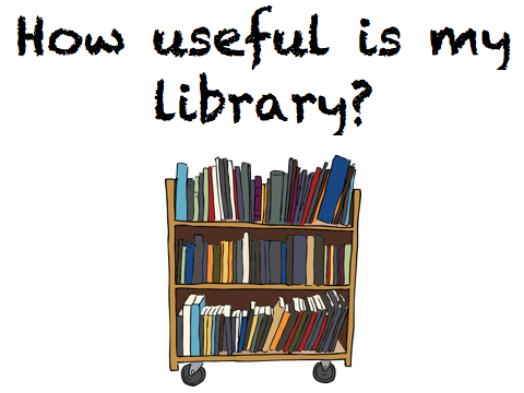 How useful is my library - an activity to allow students to get to know their school/public library