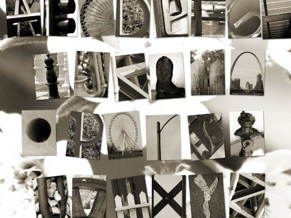 GCSE / A-Level Photography - Accidental Alphabet Photography