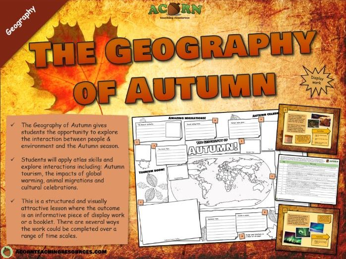 The Geography of Autumn