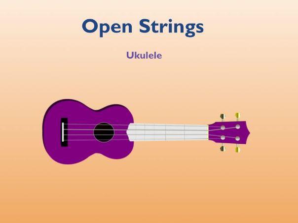 Ukulele Open Strings  Play Along