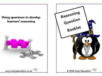 Developing Numerical Reasoning through Questioning - Pocket-sized Booklets and Speech Bubbles for Y1
