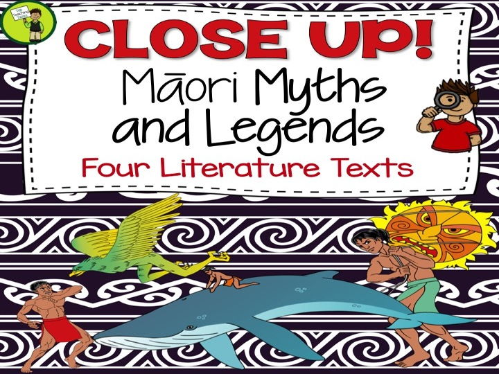 Maori Myths and Legends - Reading Comprehension Texts with Higher Order Thinking