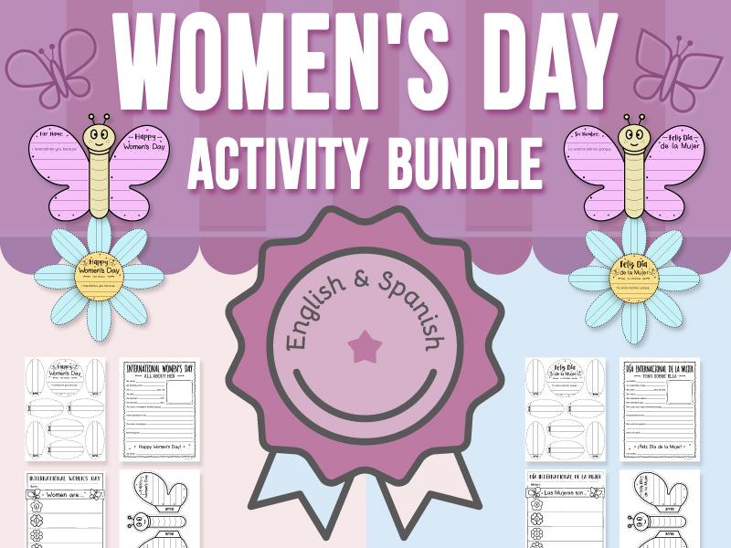 International Women's Day Activity - BUNDLE