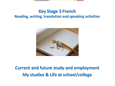 Key Stage 3 French - School - New GCSE-style questions