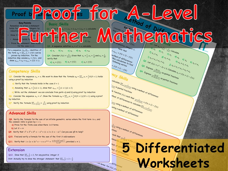 Proof for Further Mathematics A-Level