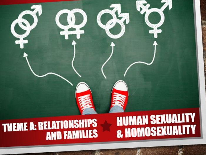 AQA Theme A Relationships and Families 1: Human Sexuality