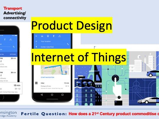 Internet of Things Product Design Technology