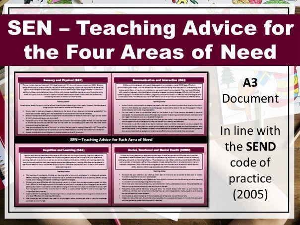 SEN Teaching Advice
