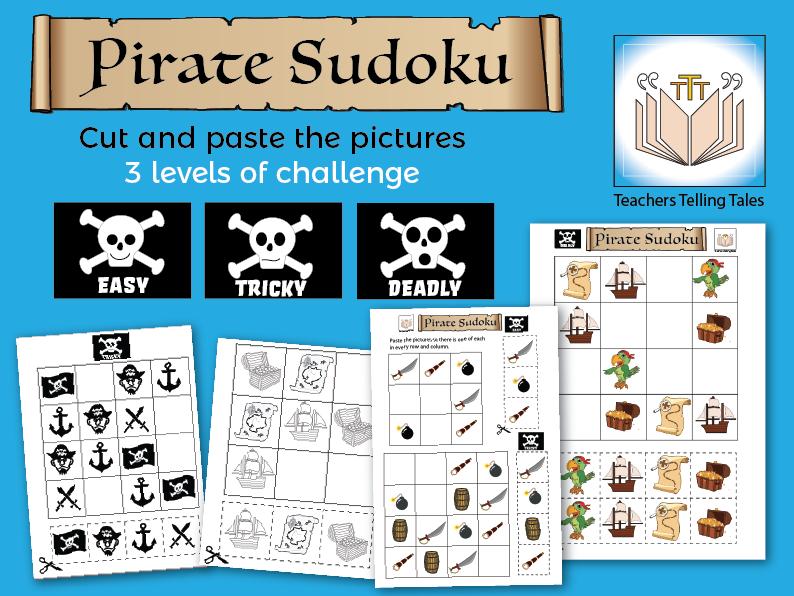 Pirate Sudoku Games
