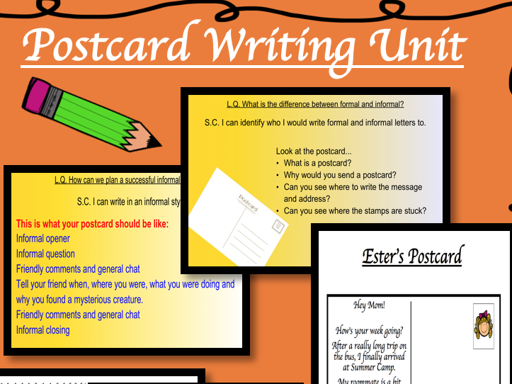Writing a Postcard: KS2