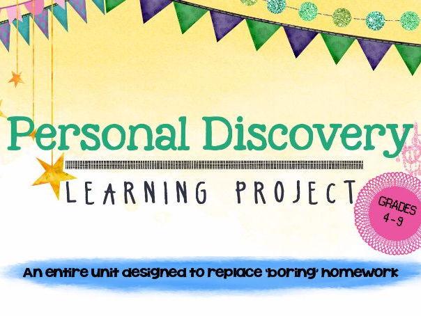 Personal Passion Project: Entire Unit
