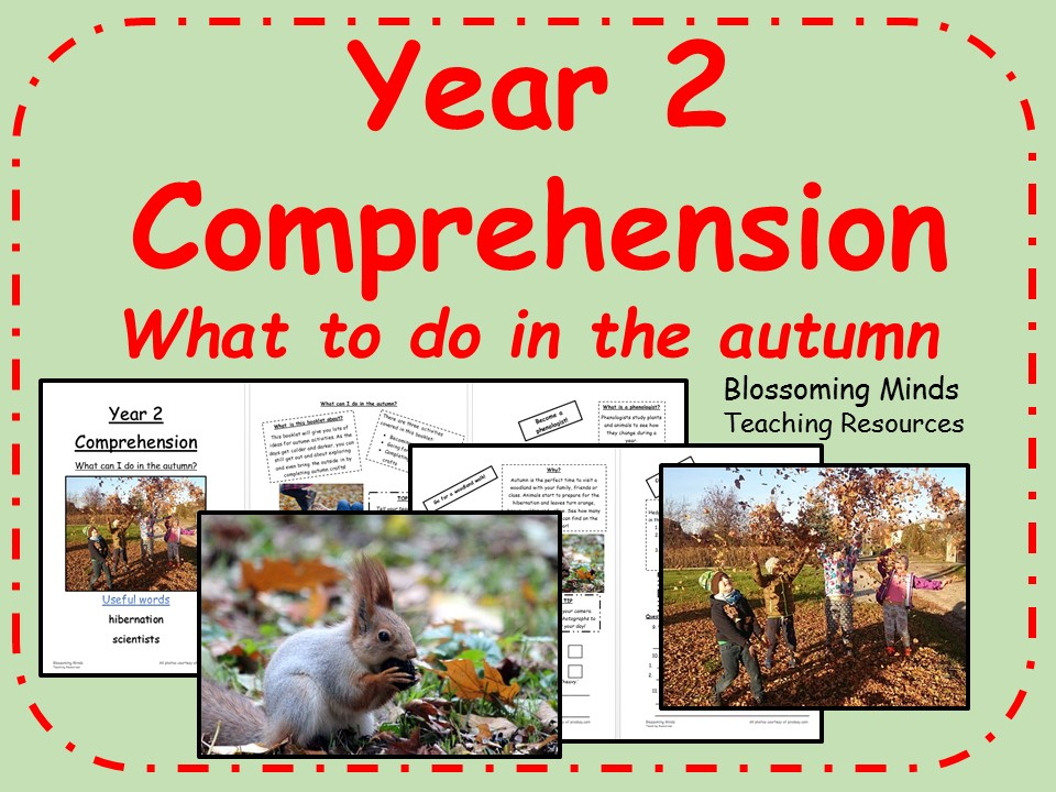 Year 2 non-fiction comprehension - What can I do in the Autumn?