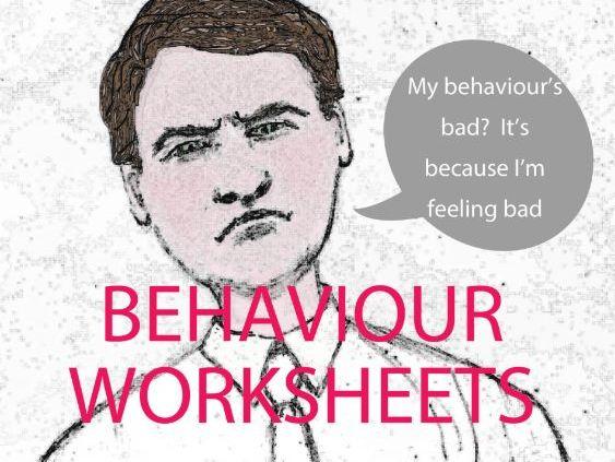 Behaviour Worksheets