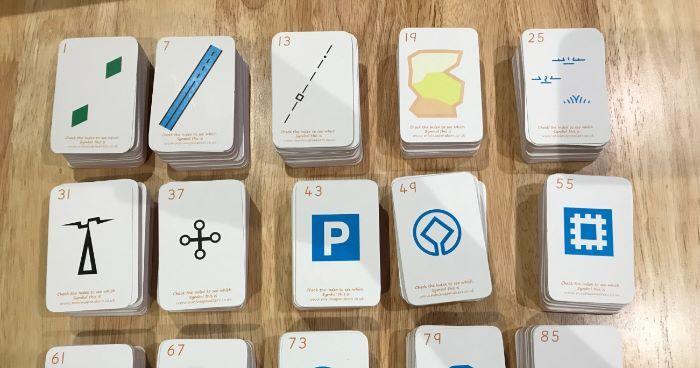 Map Symbol SNAP Card Deck!