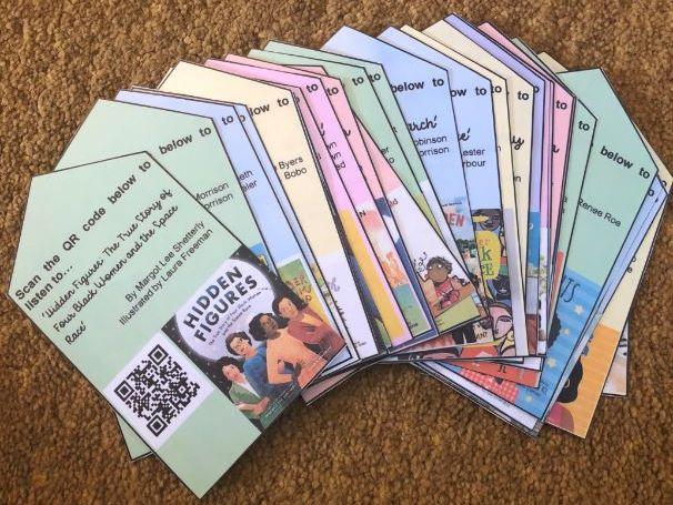 Picturebook QR Codes - Diversify your Libraries! (Black Lives Matter)