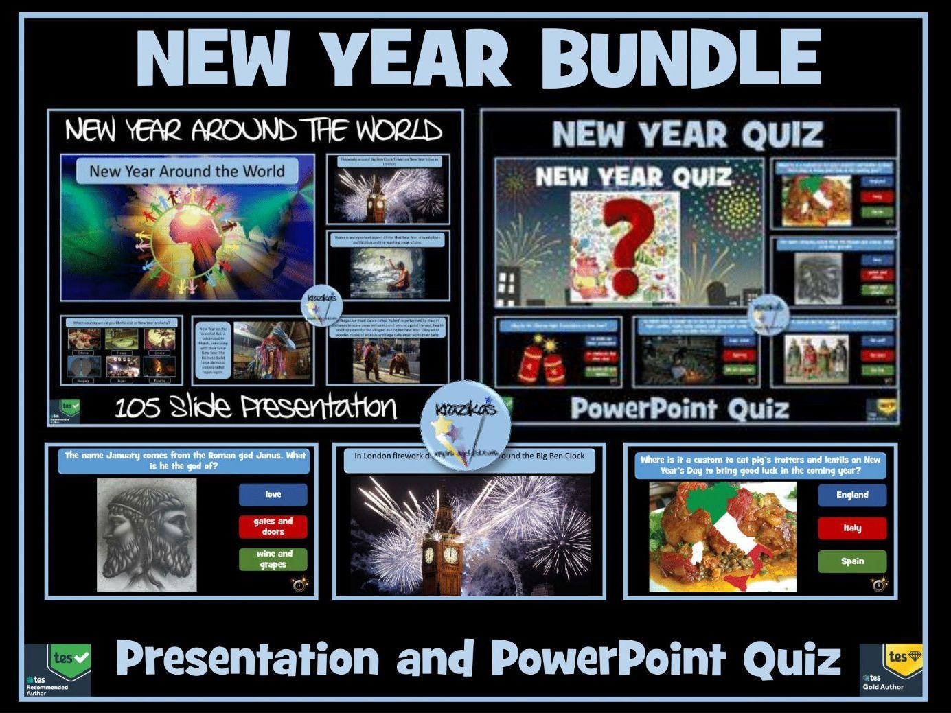 New Year Presentation and Quiz