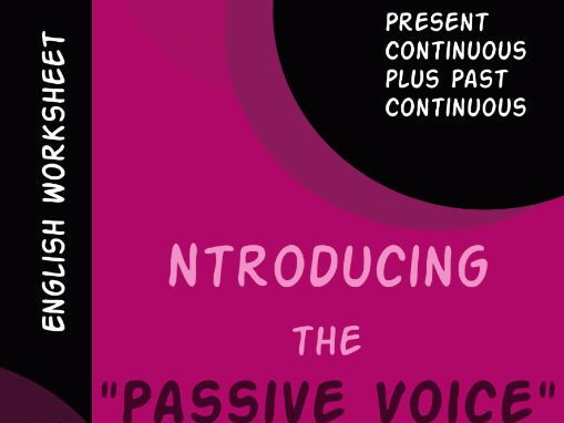 Introducing the Passive Voice (2)