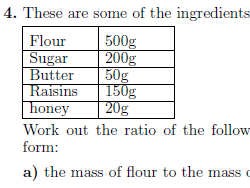 Introduction to ratios worksheet (with solutions)