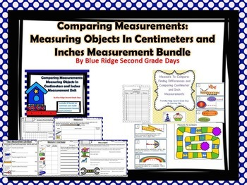 Comparing Inches and Centimeters Bundle