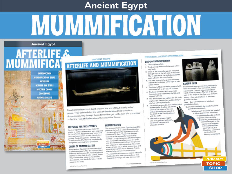 Ancient Egypt - Afterlife and Mummification