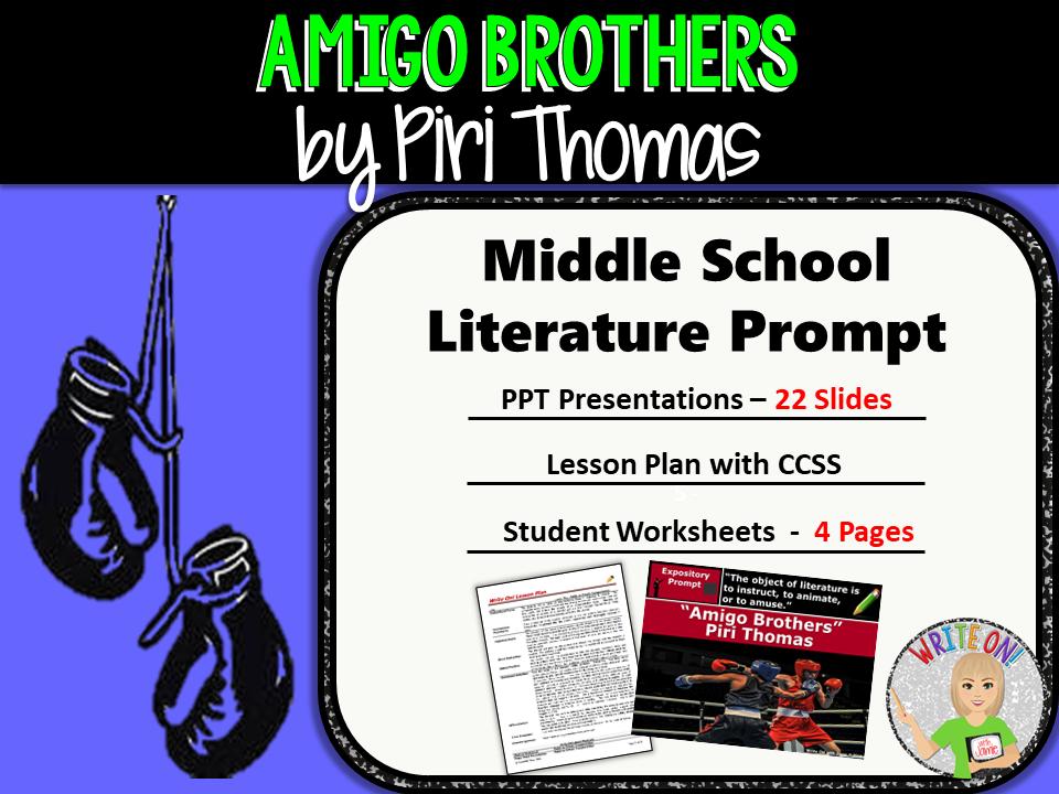 amigo brothers text Amigo brothers summary note: summary text provided by external source author: thomas, piri language: english.