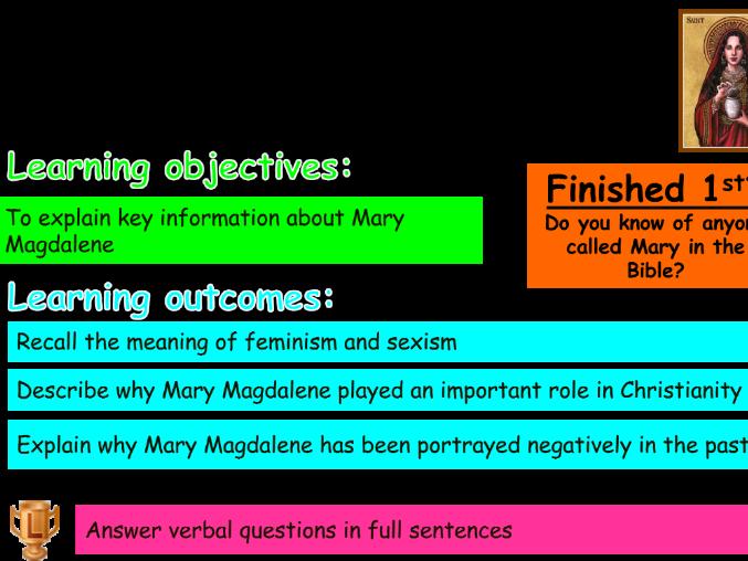 Hero: Mary Magdalene
