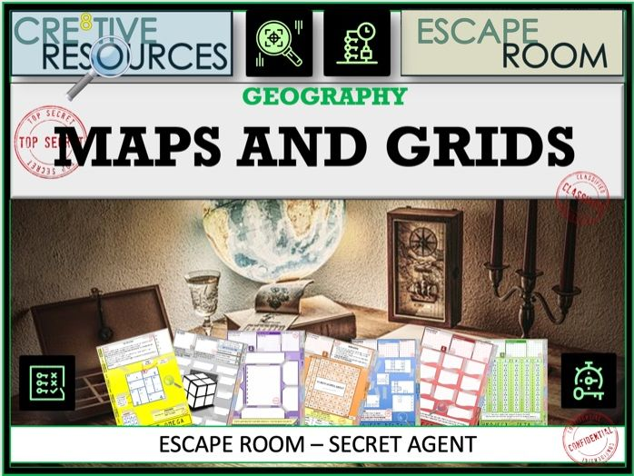Maps Grids - Geography