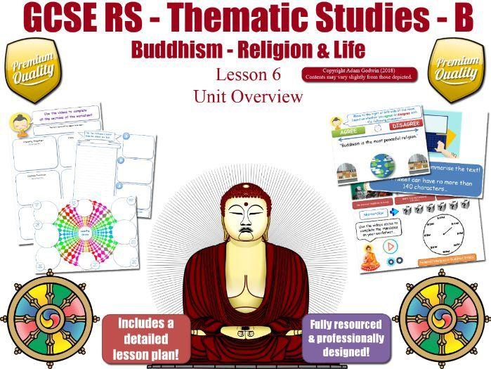 L6 - GCSE Buddhism - Abortion, Euthanasia, Animal Experimentation (Religion & Life) Theme B