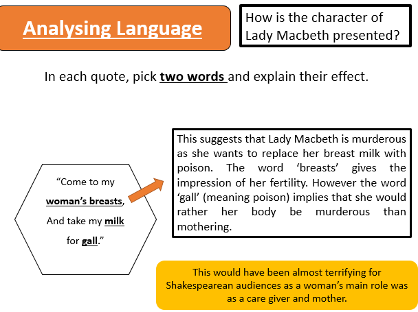 an analysis of an extract from act 1 scene 3 of macbeth