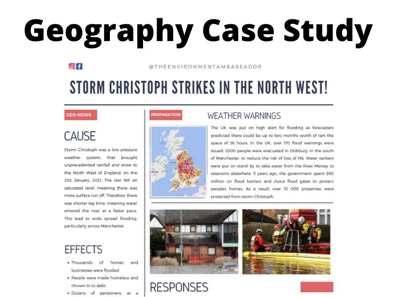 Storm Christoph Case Study