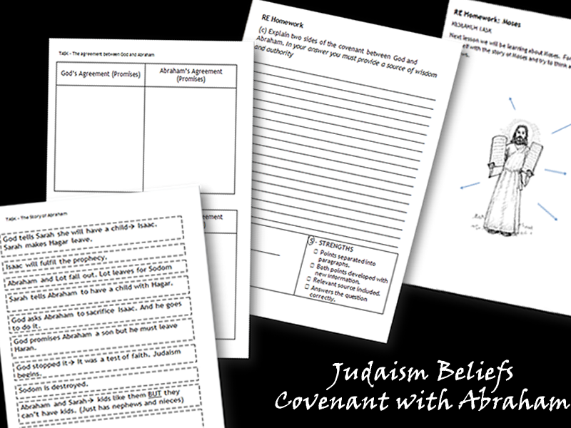 GCSE Judaism - The Covenant of Abraham (2 Lessons)