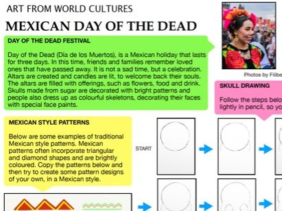 Mexican Day of the Dead - Art from World Cultures 2