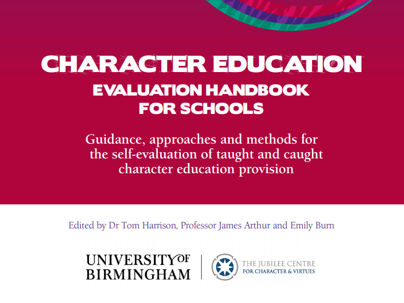 Character Education -Evaluation Handbook for Schools