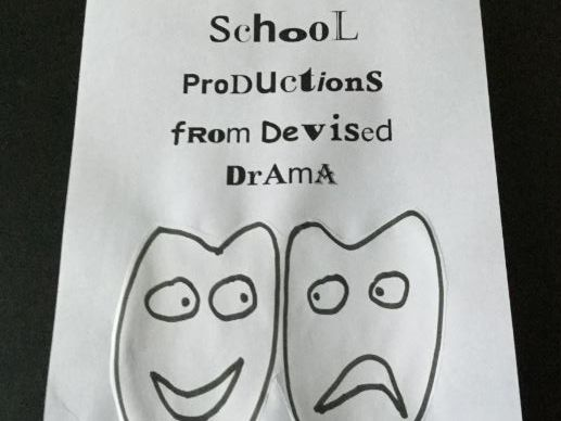 School Productions from Devised Drama (8)