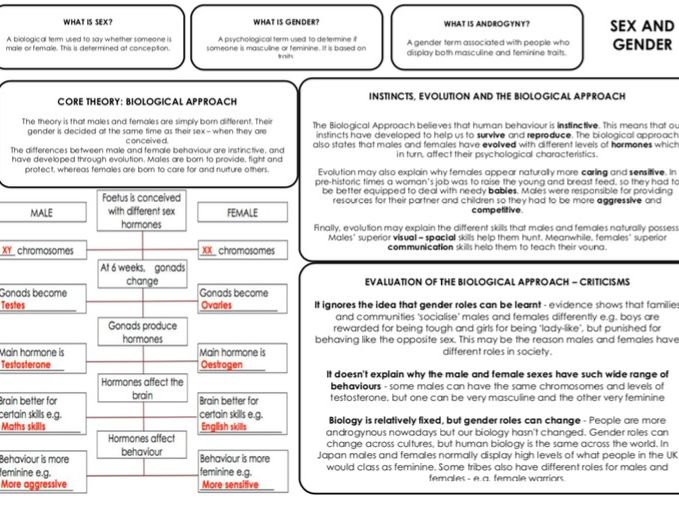 OCR GCSE Psychology - Revision Mats