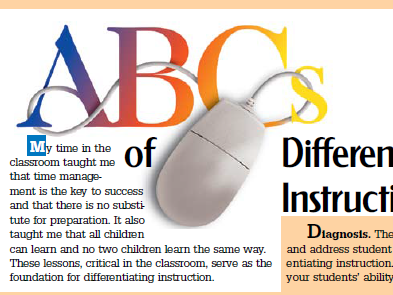 ABCs of Differentiating Instruction